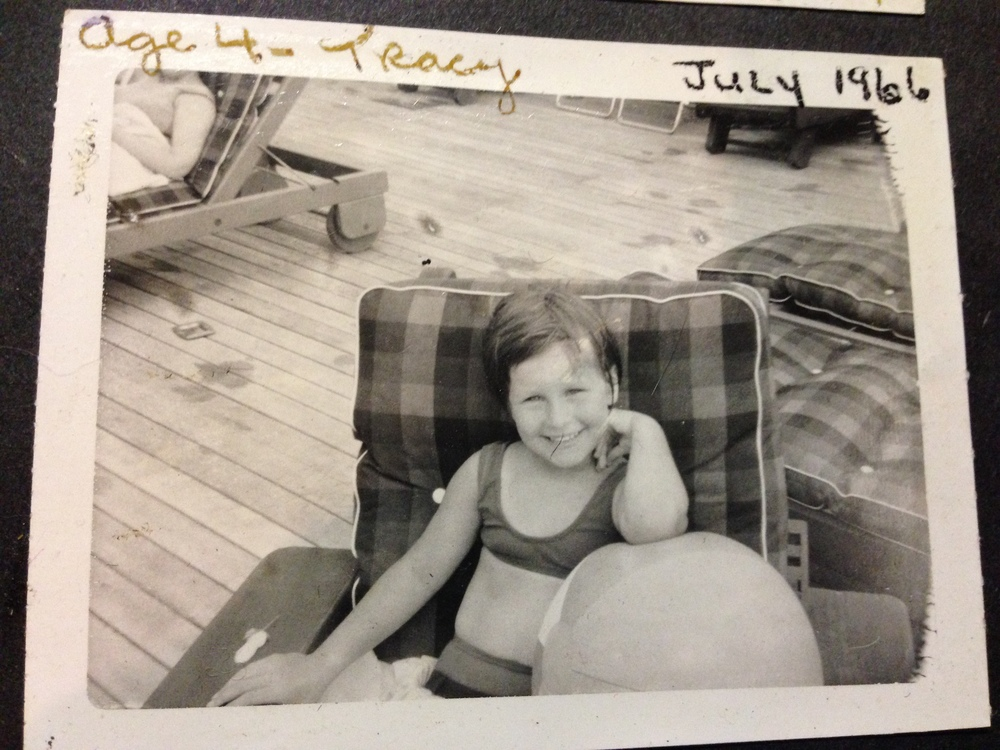 Tracy age 4
