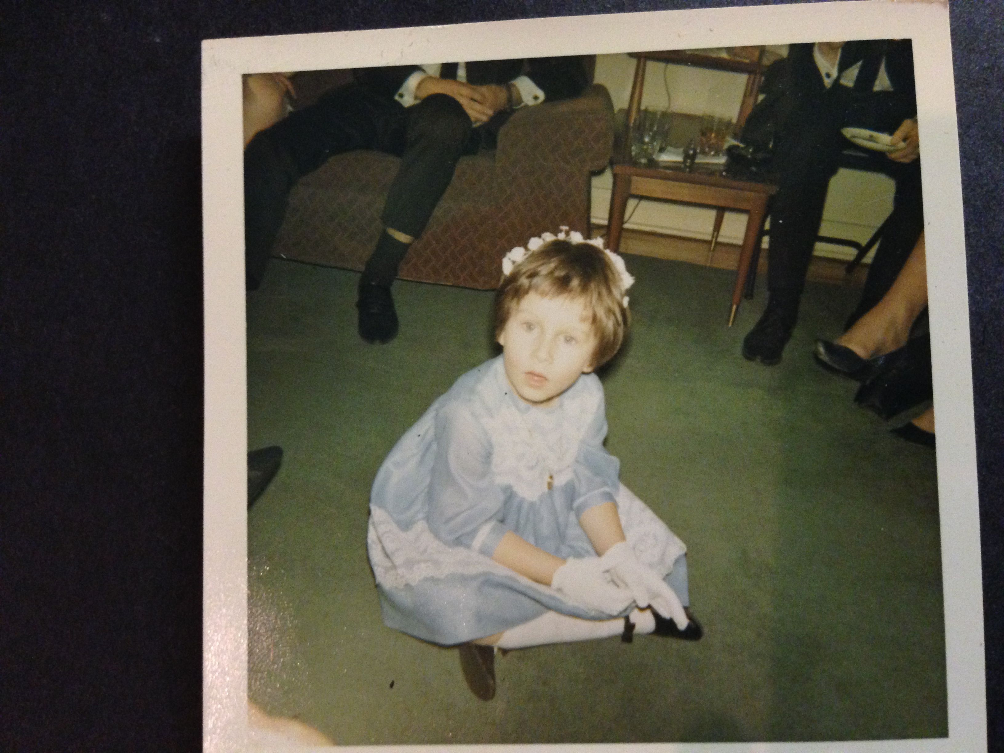 Tracy age 5